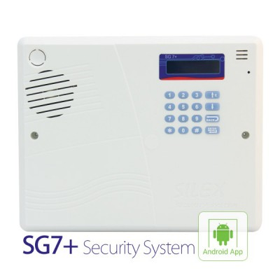 دزدگیر سایلکس SG7,دزدگیر اماکن سیمکارتی سایلکس,SILEX