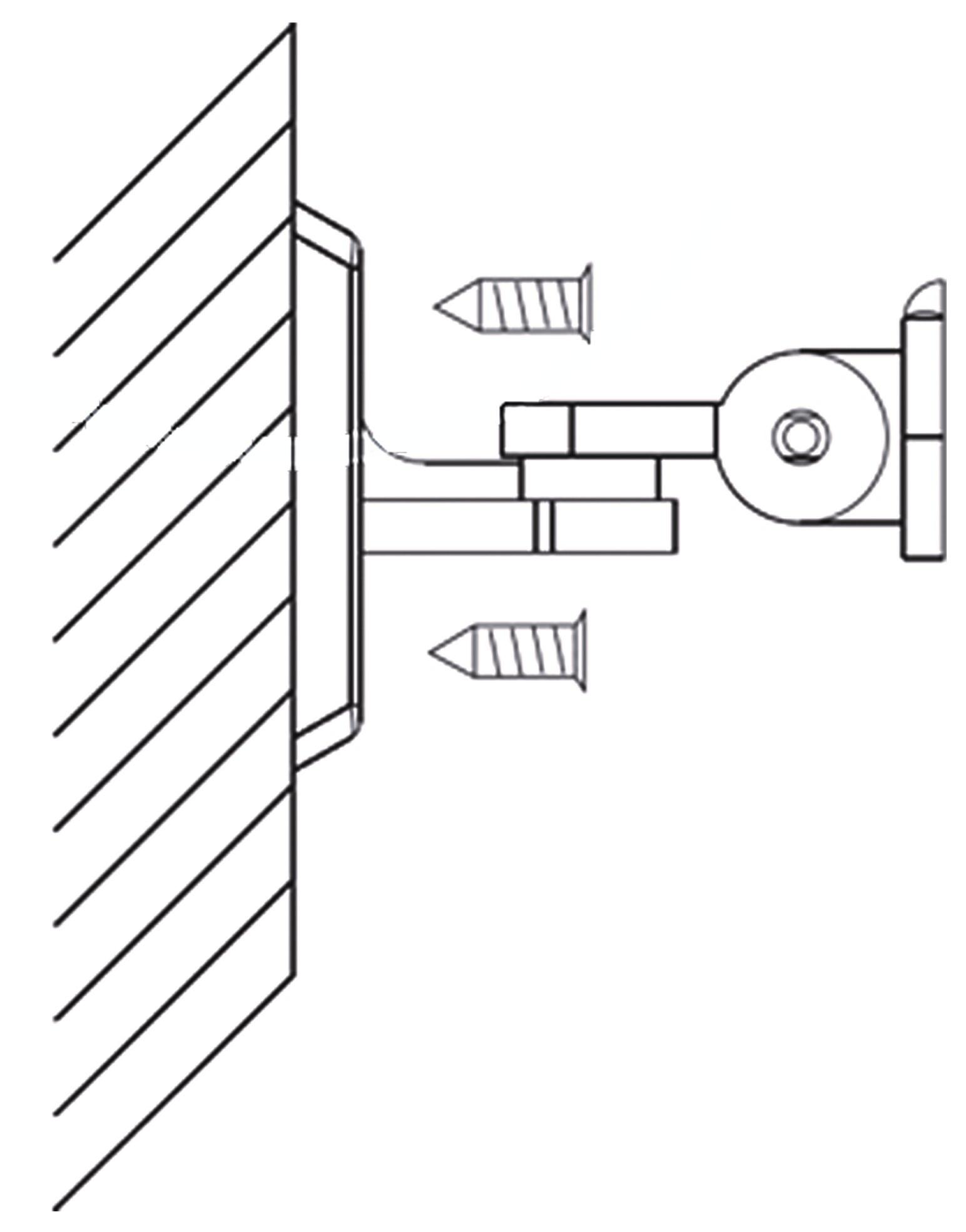 ارتفاع نصب پایه چشمی دزدگیر